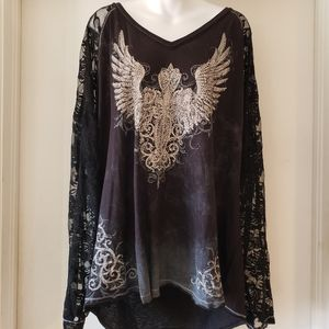 Maurices bling shirt